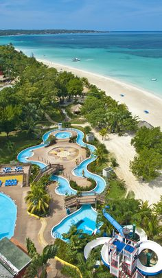 3418458c2 The Pirates Island Waterpark at Beaches Negril is a Fantasy world filled  with gigantic waterslides