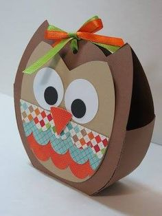 Crafting 4 Fun: My First Project with the Silhouette Cameo Kids Crafts, Diy And Crafts, Craft Projects, Arts And Crafts, Paper Crafts, Silhouette Cameo Machine, Silhouette Cameo Projects, Owl Treats, Owl Card