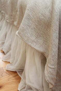 Couture Dreams Whisper Ivory Bedskirt
