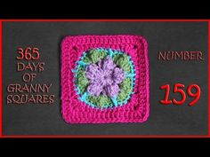 Link to written pattern can be found at the bottom of this blog post: https://yarnutopia.com/365-days-of-granny-squares/ Hashtag #YARNutopia and #365DaysofGr...
