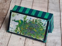 Peacock Box, Jewelry Box, Medium Jewelry Box, Bridesmaid Jewelry Box, Personalized Wood Jewelry Box,Wooden Jewelry Box,Victorian Jewelry Box Wooden Jewelry Boxes, Jewellery Boxes, Home Decor Boxes, Transit Custom, Victorian Jewelry, Wood Boxes, Bridesmaid Jewelry, Jewelry Organization, Decoupage