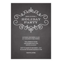 From corporate christmas celebrations to office holiday lunch formal frame holiday party invitation stopboris Image collections