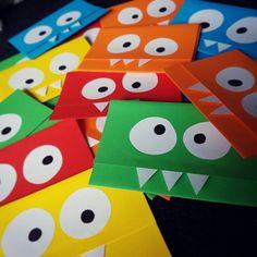 Lil Monster 1st Birthday Invites