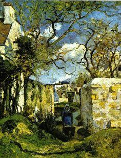 Landscape of Pontoise, 1874 / Camille Pissarro