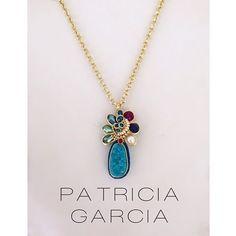 PG Collar con Druzy, agata, jade, perlas y cristales #patriciagarciaaccesorios #chapadeoro #necklace #fashion #joyeriaartesanal #accesorios #jewelry #mexicocreativo #hechoamano #sinaloa