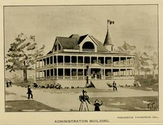 Administration Building of the Nashville Tennessee Centennial Exposition