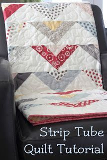 Strip Tube Quilt Tutorial and lots more