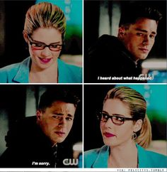 Arrow - Felicity & Roy #4.12 #Season4 <3