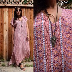 Gypsy Eyes Desert Caftan just listed! The perfect dress for those hot summer days!