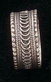 Ethnic ring silver filigree jewelry