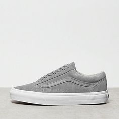 8bf57cf1bbf49d Vans Old Skool Suede Woven gray true white online bei ONYGO