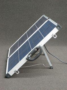 Portable solar panel- camping