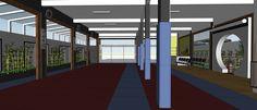 Projeto escritório Atelier da Reforma - Academia de Kung Fu Shaolin Salvador