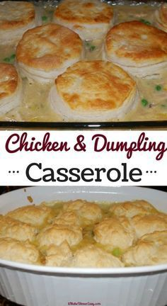 The Ultimate Comfort Food Recipe Chicken And Dumpling Casserole So Easy To Make And Never Fails To Please A Family Friendly Recipe That My Kids Love