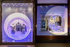 Calvin Klein windows by Studio XAG, Milan, London