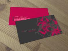 Macky double sided business card
