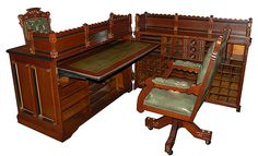 "A Moore desk or Moore insurance desk was a ""patent desk"" which opened up to…"