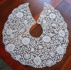 Free resources to get you started making Irish Crochet Lace