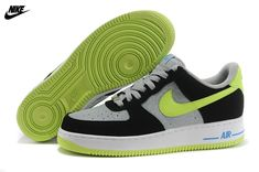 e4fa4d37f660 Mens Nike Air Force One Low Basketball Shoes Reflective Silver Volt Black  488298-077