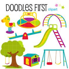 playground equipment clip art free clipart images graphics rh pinterest com  free playground clipart images