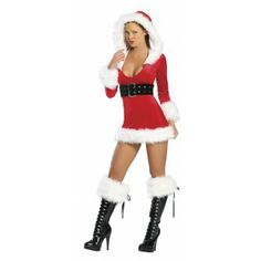 9 Best Sexy Girl Santa Suits Images On Pinterest Christmas Clothes