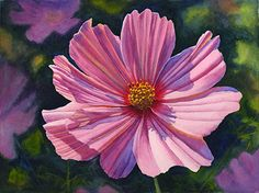 Cathy Hillegas - Summer Celebration II,Watercolor