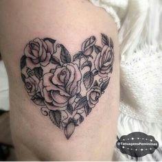 Rose + Heart