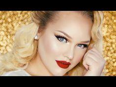 Nice Vintage Glam PROM Makeup Tutorial ∙ RuPaul Inspired