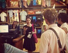 Designer Carmen Artigas leads the Ethical Fashion Academy Sustainable Design Tour on June 22.