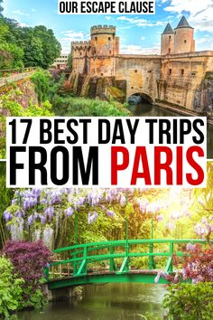 Chateaus, water gardens, idyllic villages, and more: here are the best day trips from Paris! best day tours from paris france | best paris day trips | best paris france day trip ideas | best paris day tours | fun day trips from paris france | best places to visit near paris | best things to do near paris france | best small towns near paris | visiting versailles from paris | visiting giverny from paris | best chateaus near paris france | best castles near paris | best places to visit in…