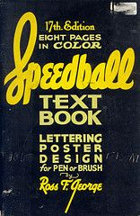 Speedball Textbook Lettering (1957), lots of alphabets and how to draw them