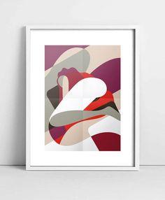 """""""Solitudine"""" Poster - 29,7 x 42 cm"""