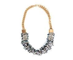Collar con perlas negras Liv