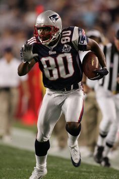 MARSHALL'S TROY BROWN - He won 3 Super Bowls and contributed in what was originally an emergency role on defense, ranking second on the team in interceptions with three. In addition to playing offense and defense with success, Brown is the Patriots' all-time leading punt returner with 252 returns for 2,625 yards and 3 touchdowns. He is second all-time in Patriots history in receptions (557) and second all-time in receiving yards (6,366)