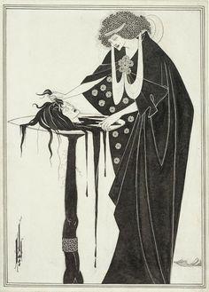 Le Prince Lointain: Aubrey Beardsley (1872 – 1898), Salome: The Dancer...