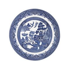 Churchill China Blue Willow 12 Piece Dinner set WBMB90001 | Harts of Stur