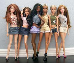 Drew, Teresa, Nikki, Christie, Skipper and Summer | by fashionisto2k