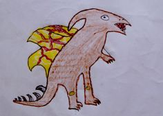 Terorex. Es un Terodactilo con dinosaurio Rex. Aparece cuando hay carne, por que son carnívoros, pero no todo se lo comen. Salvan a su propia manada. Casi no se ven por que no salen. Aldo. 12 años.