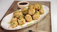 Pineapple Teriyaki Chicken Meatballs Recipe | The Chew - ABC.com