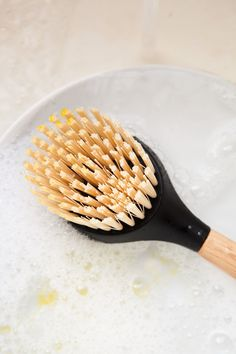 How To Clean and Disinfect a Dish Brush