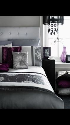 A nice way to incorporate purple into your design.