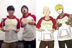 ONE PUNCH MAN, Makoto Furukawa & Kaito Ishikawa, Seiyuu/Voice Actor Saitama & Genos,