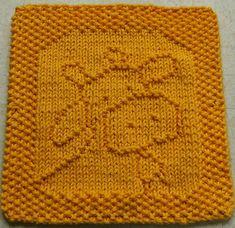 Belle the Cow Dishcloth pattern -Farm Animal Knitting Patterns- In the Loop Knitting Owl Knitting Pattern, Animal Knitting Patterns, Dishcloth Knitting Patterns, Knitting Stitches, Free Knitting, Baby Knitting, Crochet Patterns, Knitted Washcloths, Crochet Dishcloths