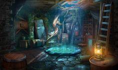 Fantasy Kitchen Art 7