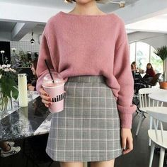 korean fashion which is really great. casual korean fashion which is really great. casual korean fashion which is really great. Korean Dress, Korean Outfits, Mode Outfits, Skirt Outfits, Casual Outfits, Fashion Outfits, Fashion Ideas, Fashion Clothes, Dress Clothes