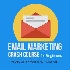 Email Marketing Crash Course for Beginners hosted by Markedu - free webinar