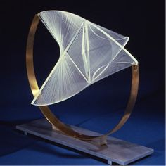 Naum Gabo, 1890-1977. russian constructivism. Title: Construction in space: suspended