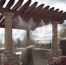 Outdoor Mist System: Patio Misting Ssytems - Do It Yourself Misters