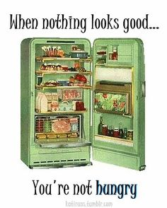 I need to keep this in mind because when you're really hungry...everything looks good!