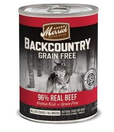 Merrick Backcountry 96% Real Beef Can Food 12/12.7 oz #beeffoodrecipes